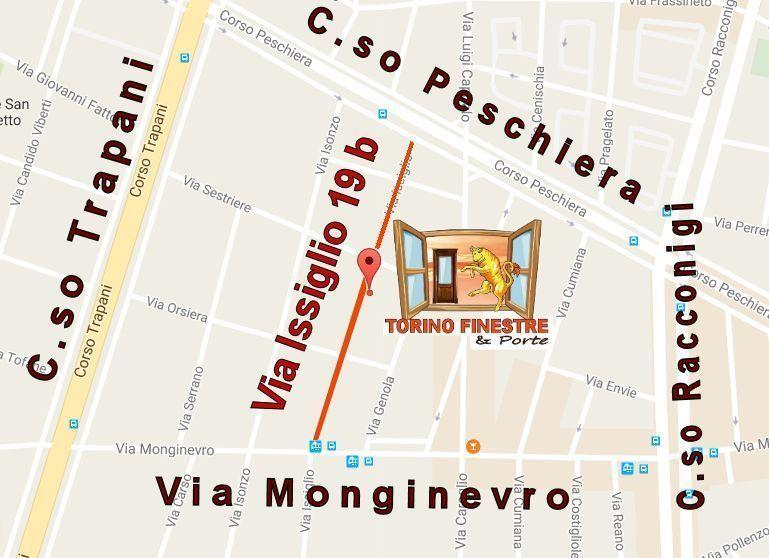 Torino Finestre Via Issiglio