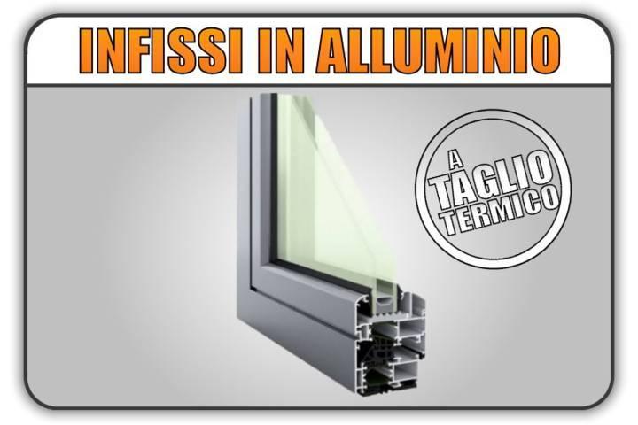 serramenti infissi alluminio taglio termico torino finestre