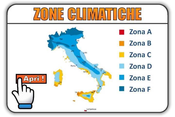 efficienza energetica zone climatiche