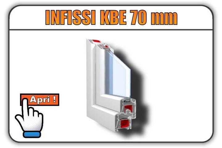 infissi in pvc kbe 70 mm torino finestre