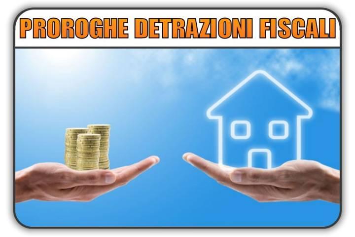 proroghe incentivi detrazioni fiscali