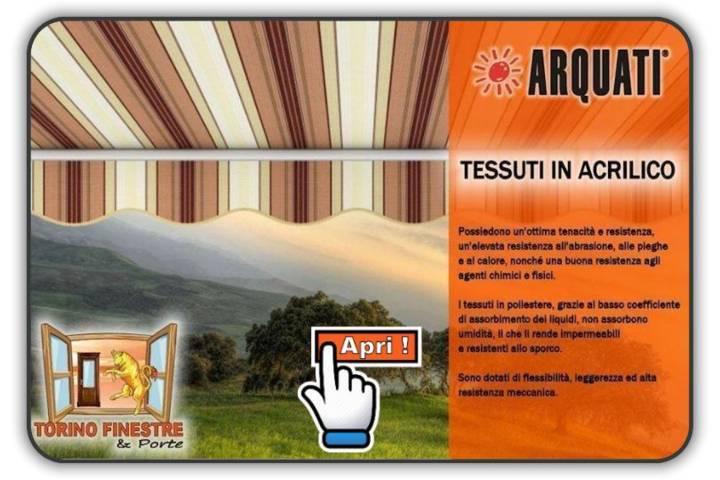 Tessuti Arquati in Acrilico rigati