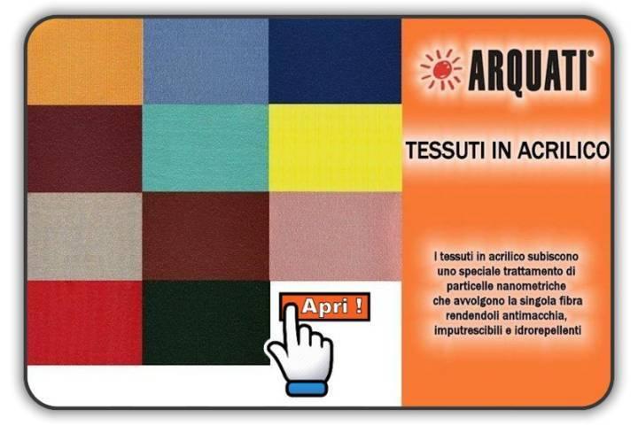 Tessuti Arquati in Acrilico tinta unita