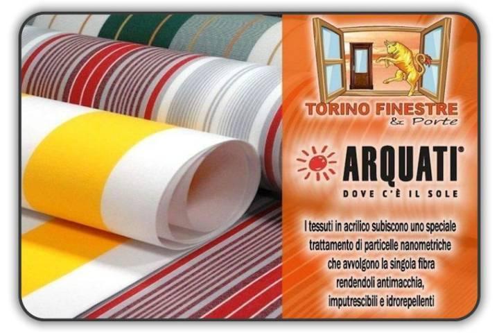 Teli Per Tende Da Esterno Prezzi.Catalogo Arquati Tessuti In Acrilico Tende Da Sole Torino