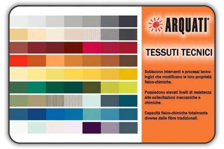 Tende Da Sole Arquati Prezzi.Catalogo Arquati Tessuto Tecnico In Tinta Unita Tende Da Sole Torino