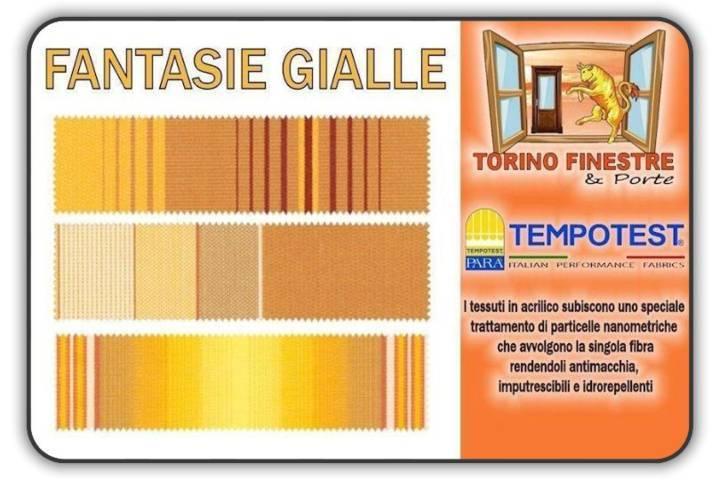 Tessuti Tempotest in Acrilico Gialli | Tende da Sole Torino