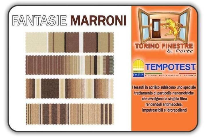 Colori Tende Da Sole.Tessuti Tempotest In Acrilico Marroni Tende Da Sole Torino