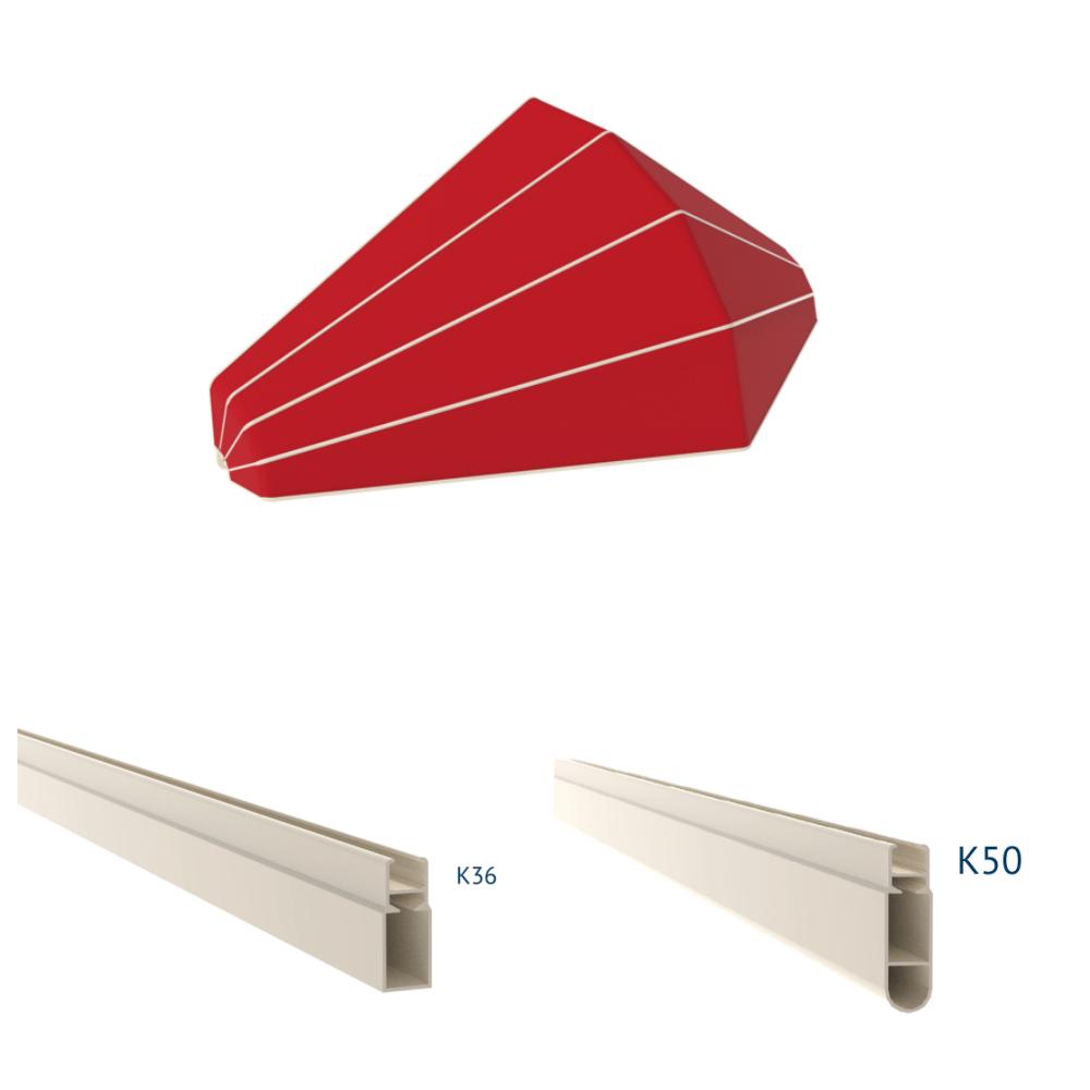 meccanismo tende da sole a cappottina canada k36 50