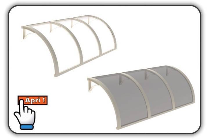 tenda da sole modello pensilina