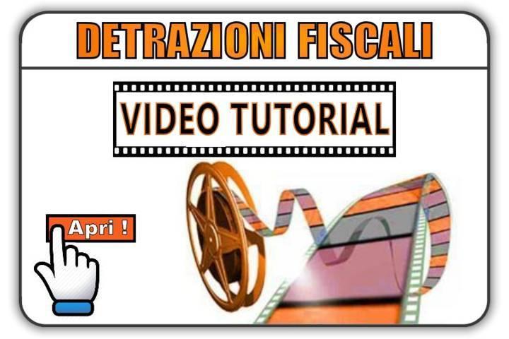 video detrazioni fiscali