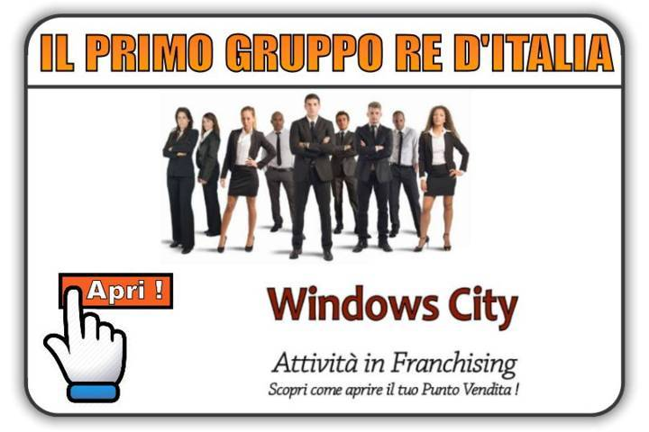 window scity gruppo re italia