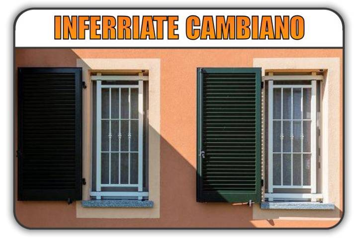 inferriate di sicurezza Cambiano