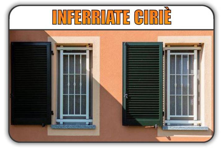 inferriate di sicurezza Ciriè