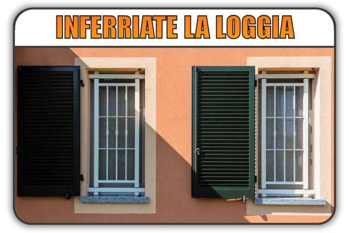inferriate di sicurezza La Loggia