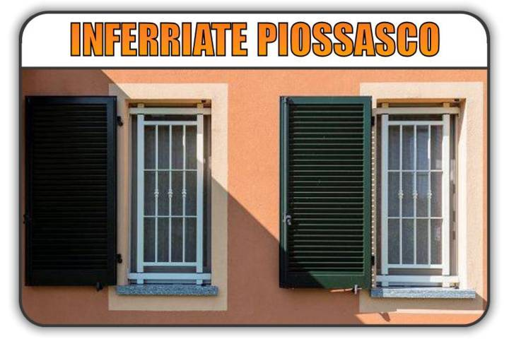 inferriate di sicurezza Piossasco