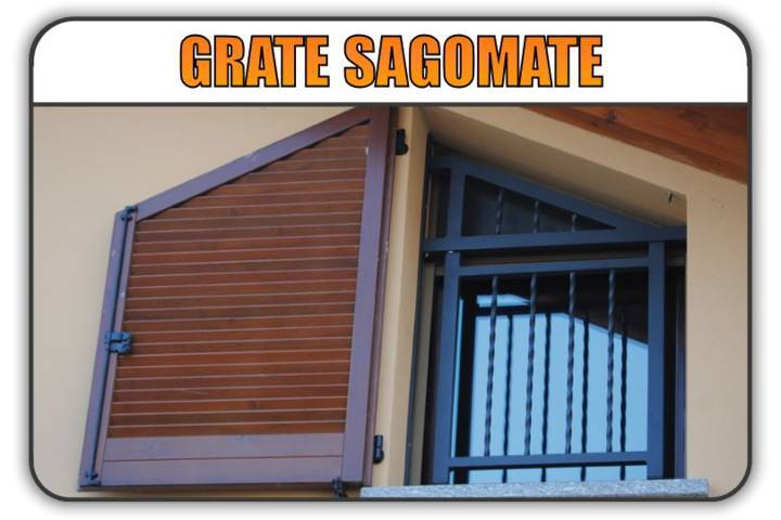 inferriate grate sagomate