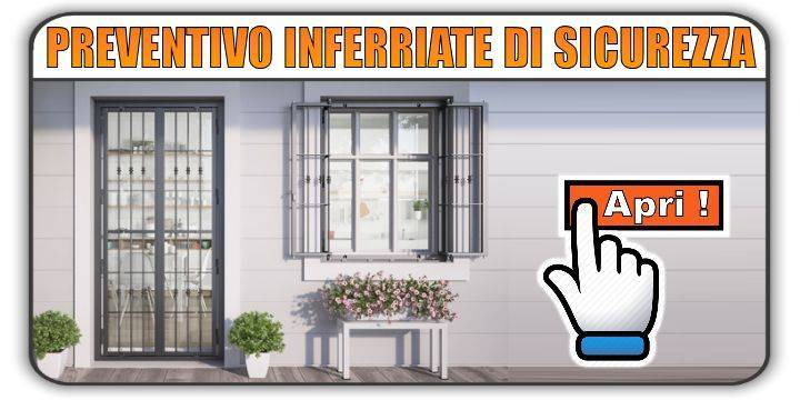 preventivo inferriate di sicurezza