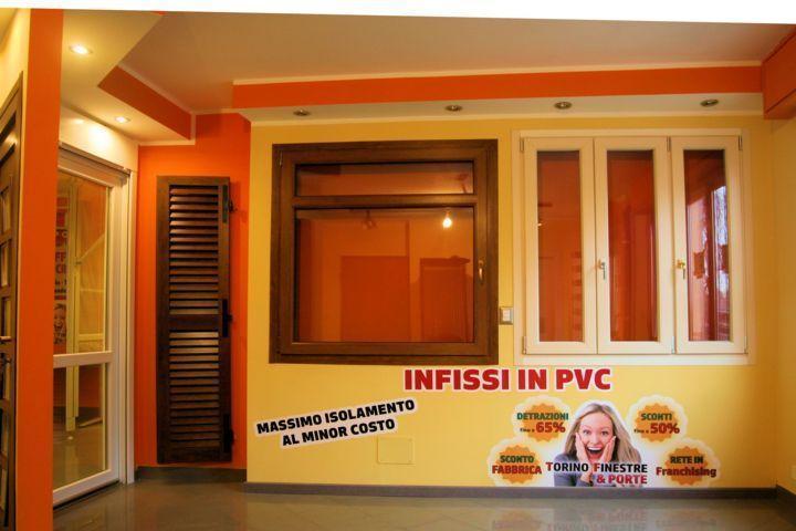 Torino finestre infissi e serramenti in pvc torino prezzi for Finestre in legno prezzi offerte