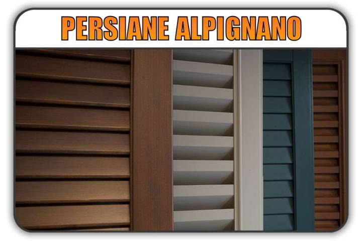 persiana Alpignano, persiane alluminio Alpignano
