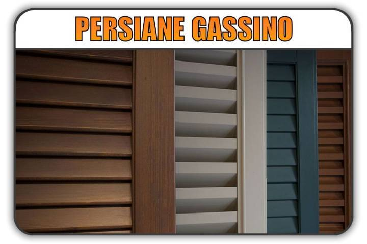 persiana Gassino Torinese, persiane alluminio Gassino Torinese