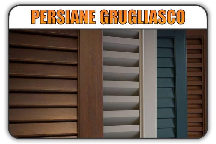 persiana Grugliasco, persiane alluminio Grugliasco
