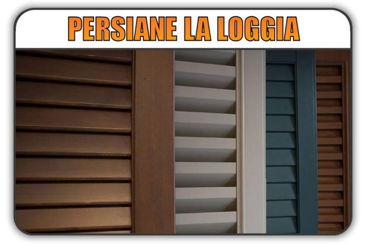 persiana La Loggia, persiane alluminio La Loggia