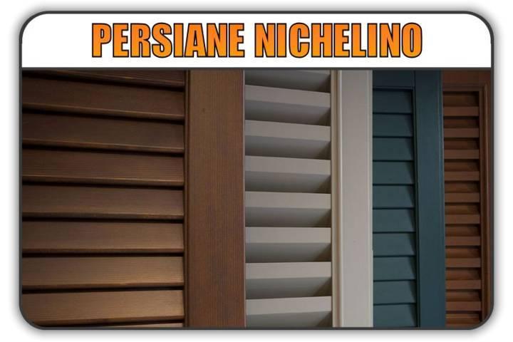 persiana Nichelino, persiane alluminio Nichelino