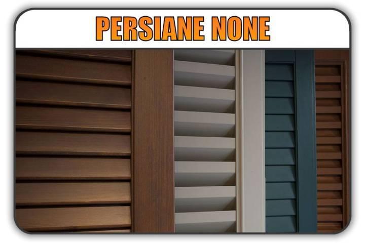 persiana None, persiane alluminio None