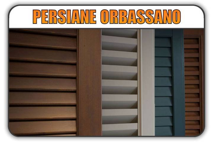 persiana Orbassano, persiane alluminio Orbassano