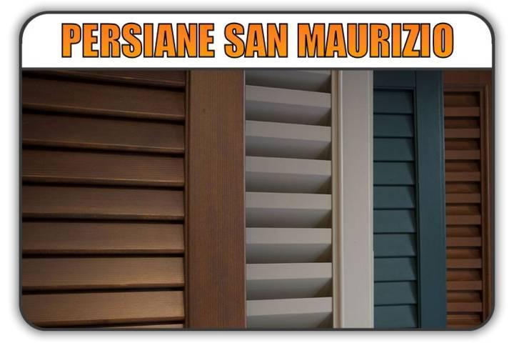 persiana San Maurizio Canavese, persiane alluminio San Maurizio Canavese