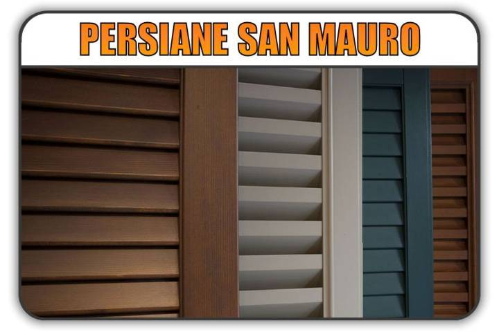 persiana San Mauro Torinese, persiane alluminio San Mauro Torinese