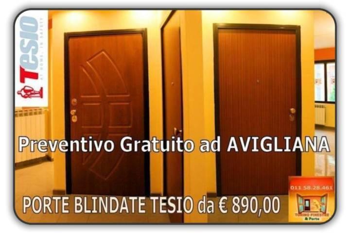 Porte Blindate Avigliana Offerta Tesio con Prezzi Fabbrica Online