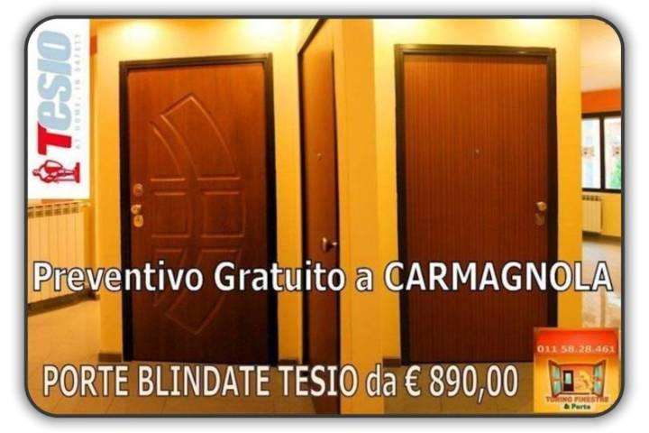 porte blindate tesio Carmagnola