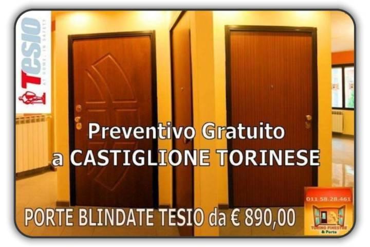 porte blindate tesio Castiglione Torinese