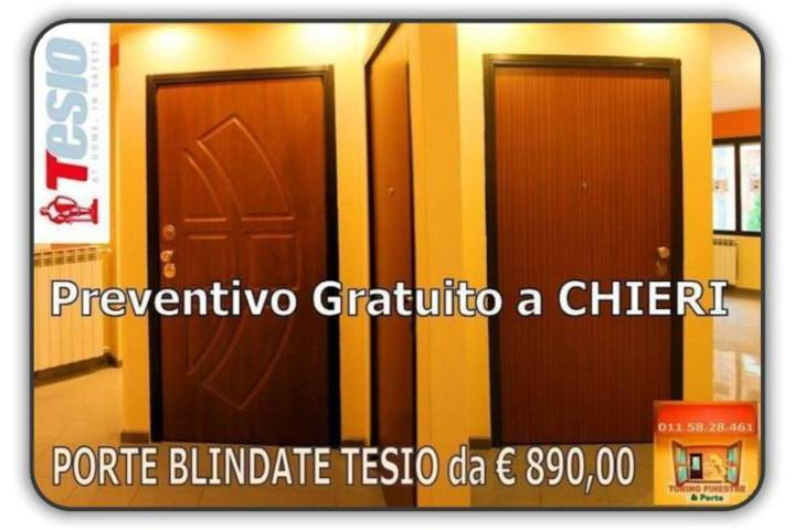 Porte Blindate Chieri
