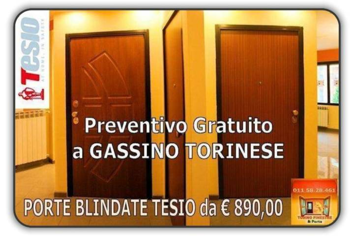 Porte Blindate Gassino Torinese