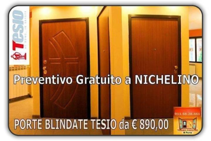 porte blindate tesio Nichelino