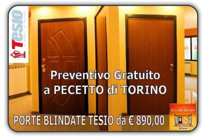 Porte Blindate Pecetto Torinese