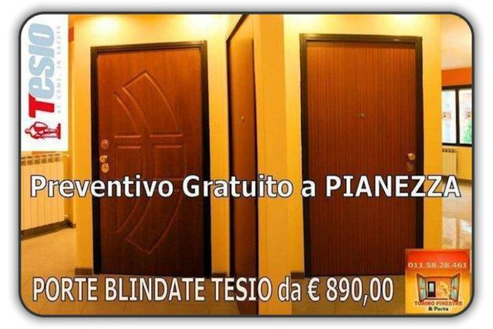 Porte Blindate Pianezza