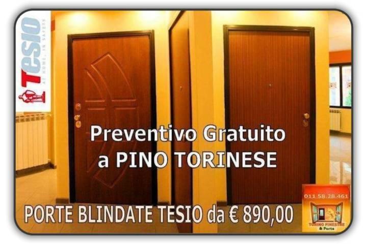 porte blindate tesio Pino Torinese