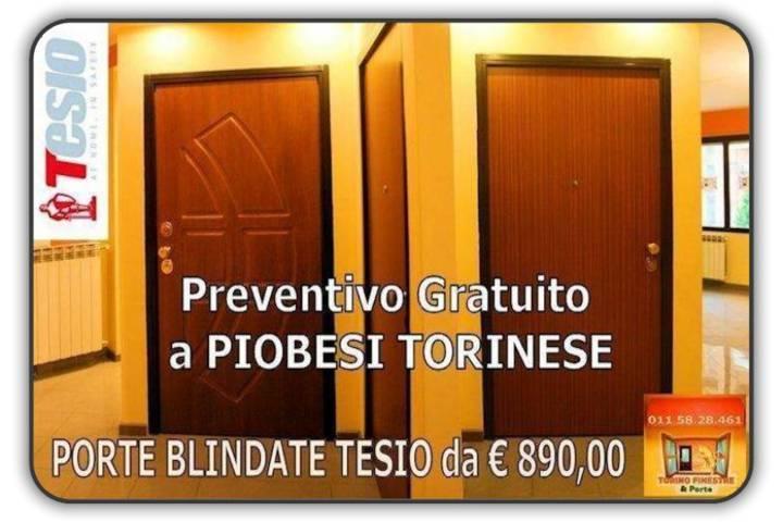 porte blindate tesio Piobesi Torinese