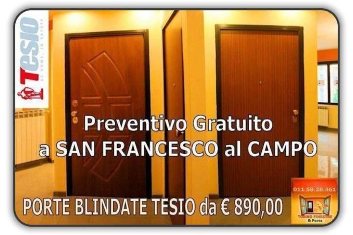 porte blindate tesio San Francesco al Campo
