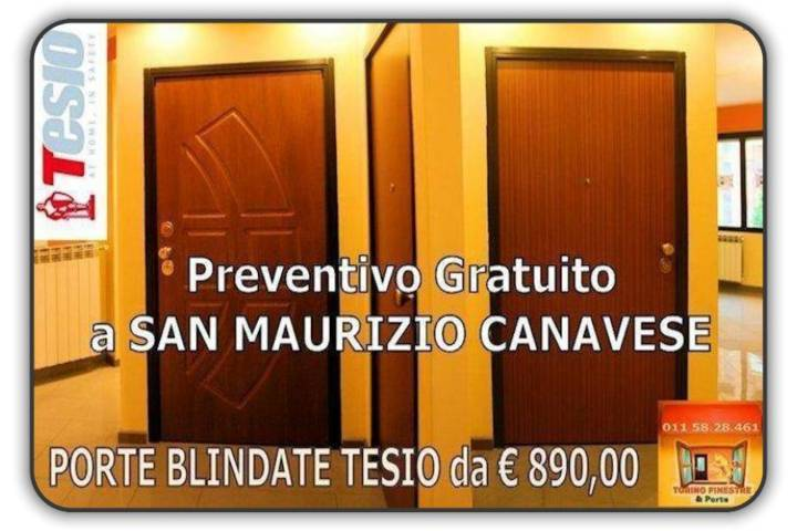 Porte Blindate San Maurizio Canavese