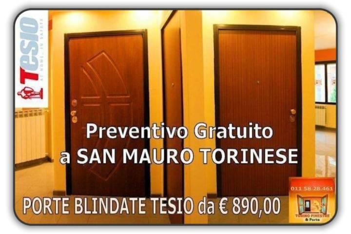 porte blindate tesio San Mauro Torinese