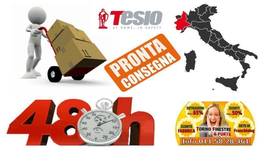 Porte Blindate Torino | Offerta Tesio con Prezzi Fabbrica Online