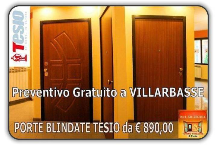 porte blindate tesio Villarbasse