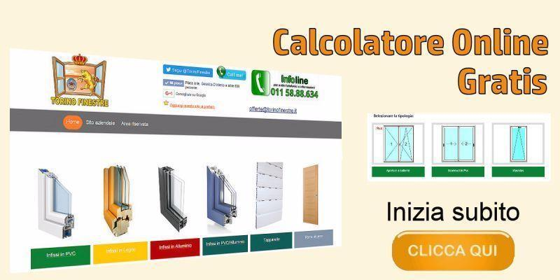 Infissi serramenti porte e finestre preventivo con prezzi online - Finestre in alluminio prezzi ...