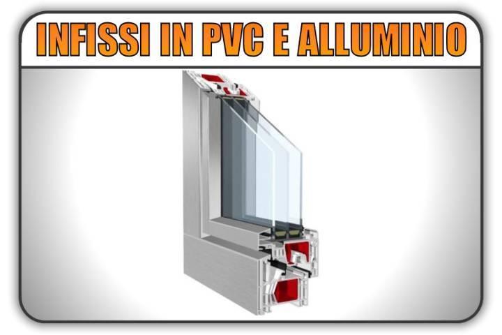 infissi in pvc alluminio aluclip