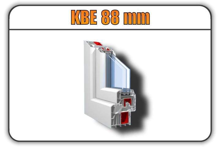 Infissi in pvc kbe 88 mm offerte e prezzi online torino for Serramenti pvc torino prezzi