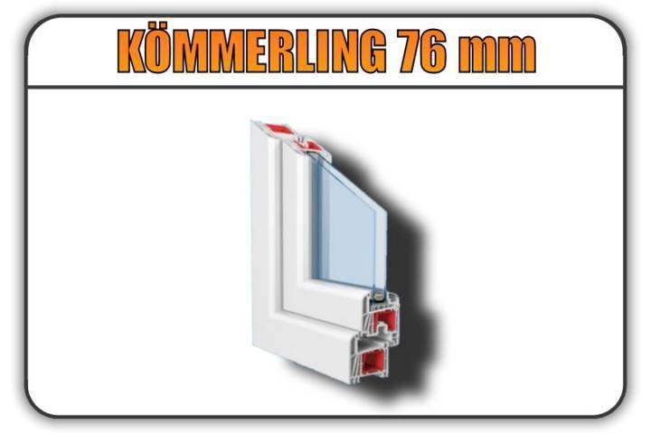 kommerling 76 torino finestre
